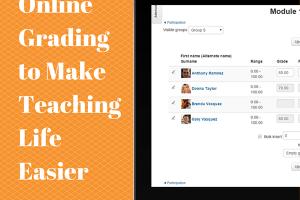 Online Grading to Make Teaching Life Easier
