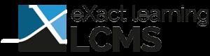 eXact learning LCMS logo