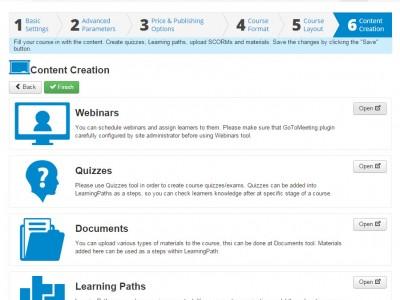 Screenshot of JoomlaLMS
