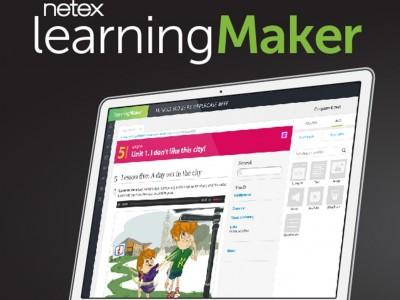 Screenshot of Netex learningMaker