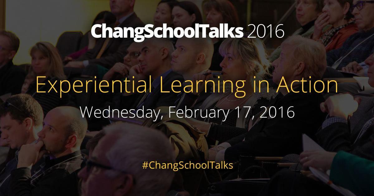 ChangSchoolTalks 2016