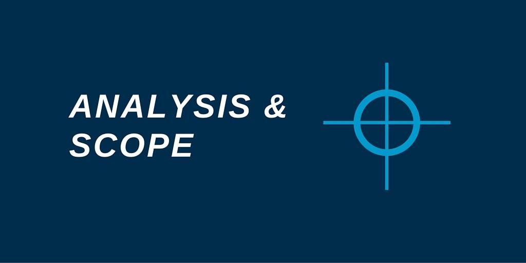 Analysis and scope