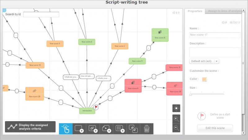 Interactive training software