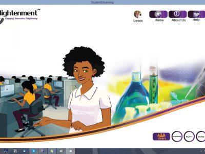 Screenshot of Enlightenment E-learning Study Kit Software