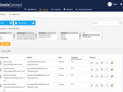 Screenshot of GnosisConnect