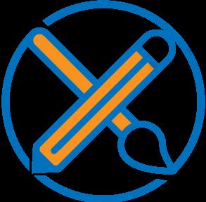 Draw Paint Academy logo