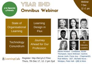 LearningCafe Year End Omnibus Webinar
