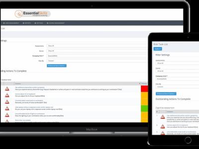 Screenshot of WorkWize