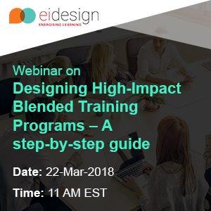 Free Webinar: Designing High-Impact Blended Training Programs By EI Design