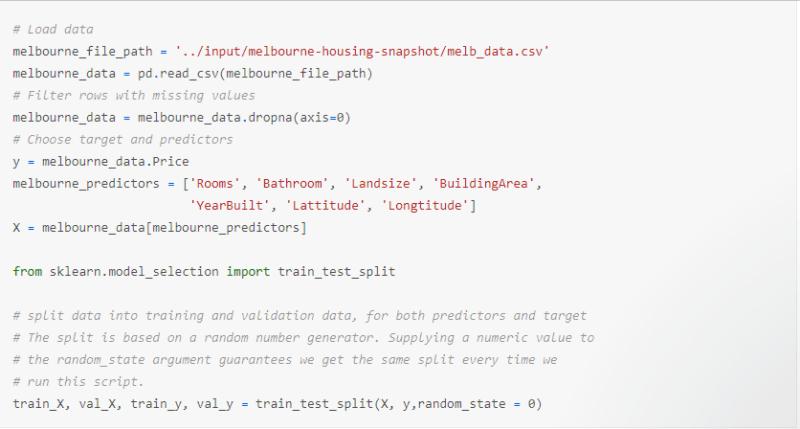 Example Code by DanB at Kaggle.com