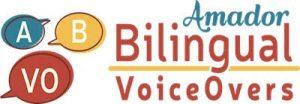 Amador Bilingual Voiceovers logo