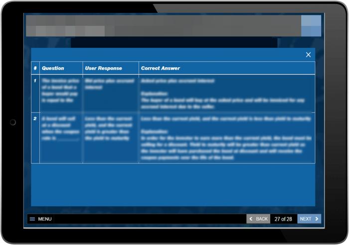 Lectora Inspire Custom Review Quiz Function 2
