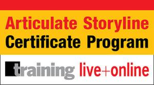 Articulate Storyline Fundamentals Certificate